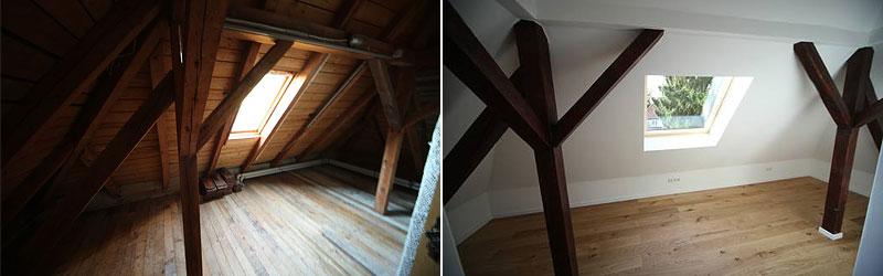 Dachgeschoss in Frankfurt ausbauen lassen